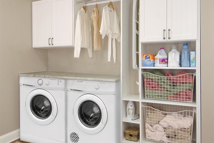 Mixed laundry room