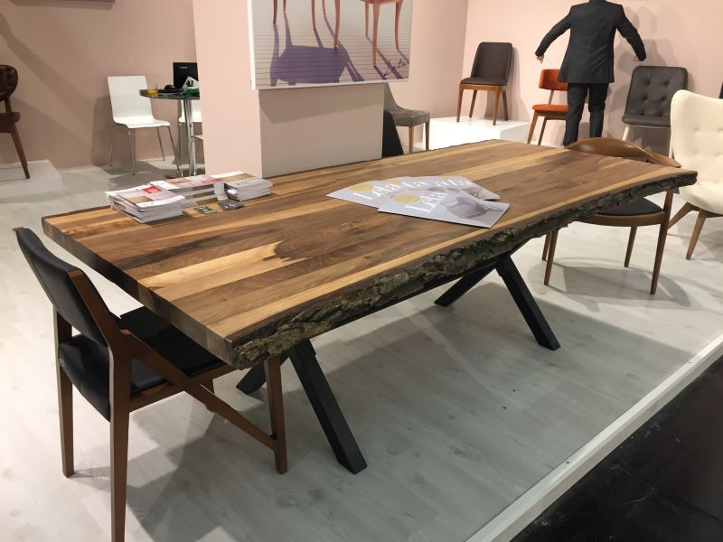 Tree finish dining table