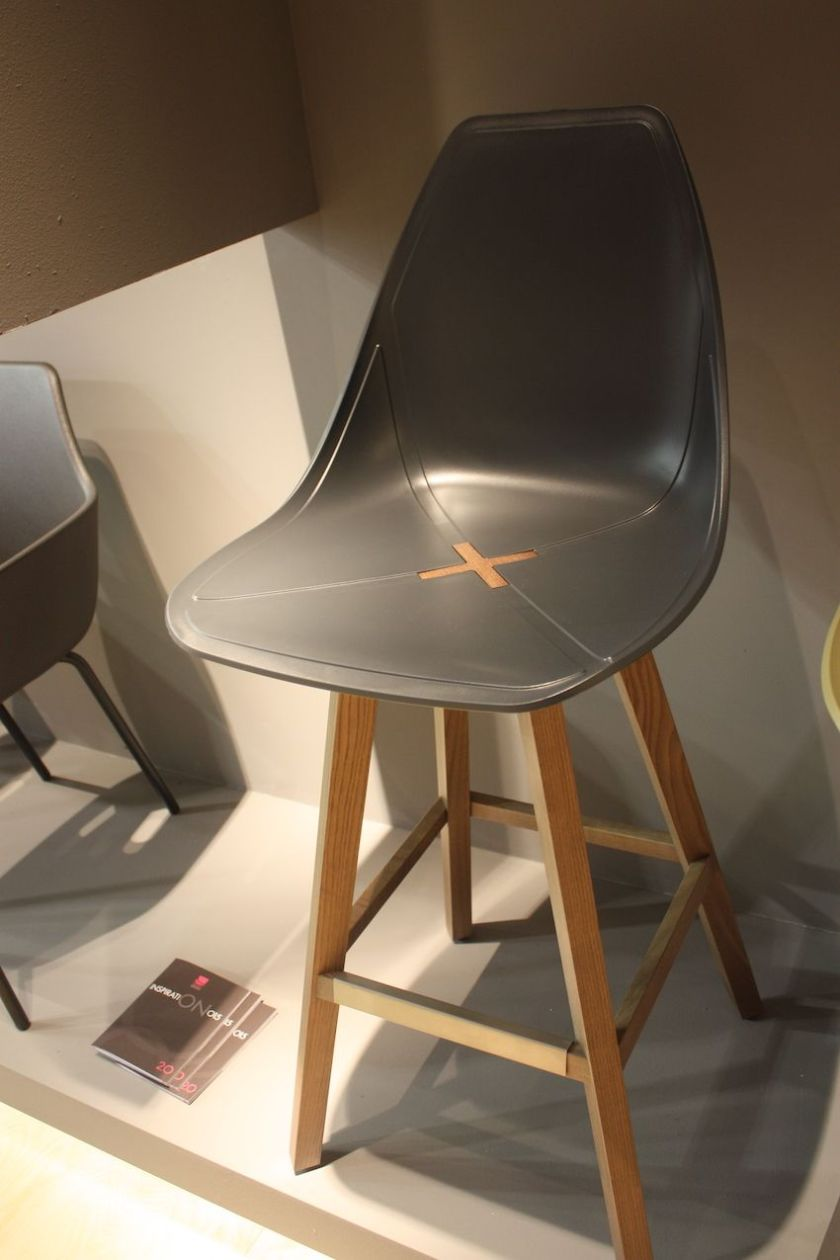 Alma's X chair is also a stylish option in stool form for a dining chair fit for a breakfast bar.