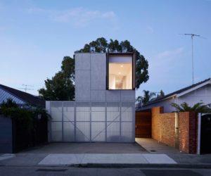 Concrete melbourne home