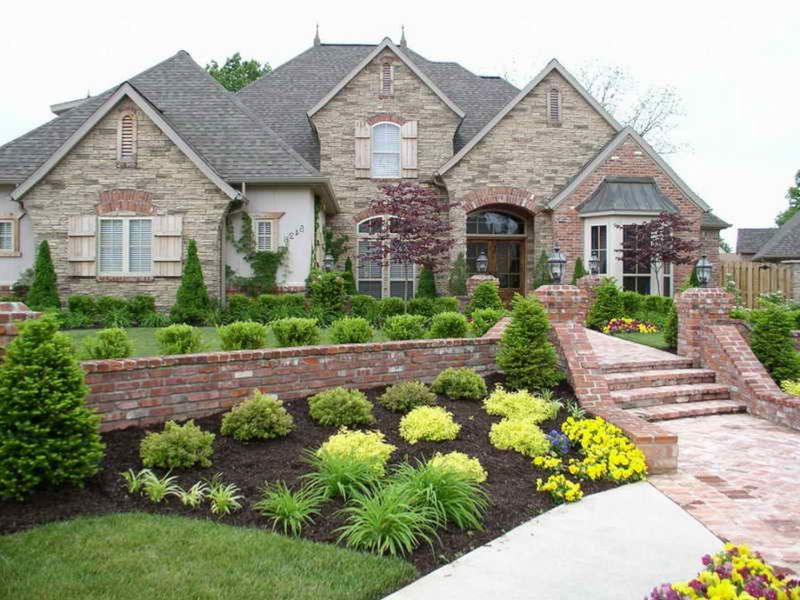 Green Landscape Design Pictures Home Ideas Delight Modern Front