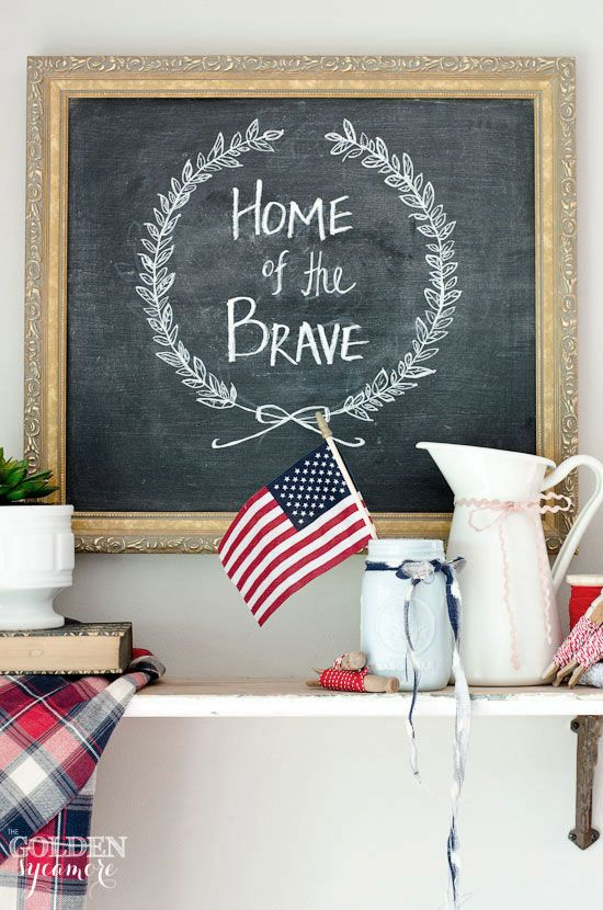 Home of the Brave 4th of July