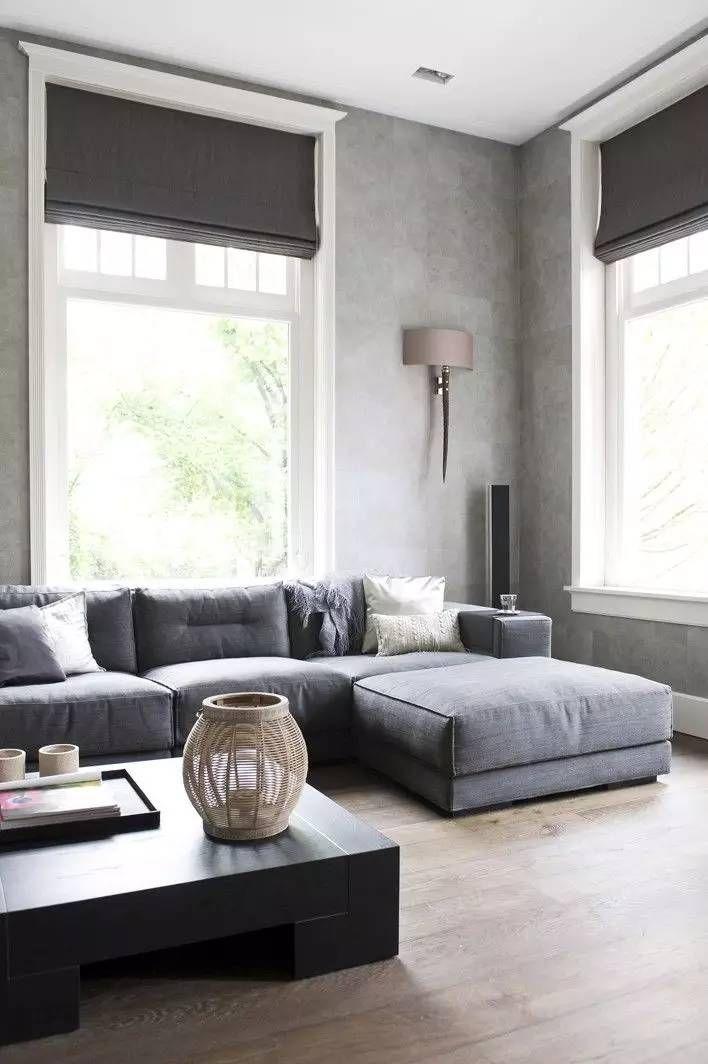 Ghế sofa thoải mái có mái che chữ L