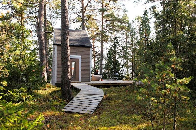 Micro cabin in Finland by robin falck foest