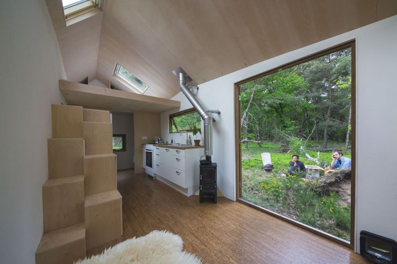 Tiny And Self Sufficient House Built In The Netherlands