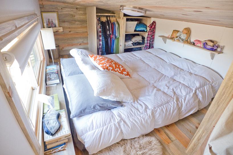 Tiny project on wheels by alek lisefski bed