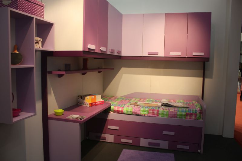 Two toned kids room furniture