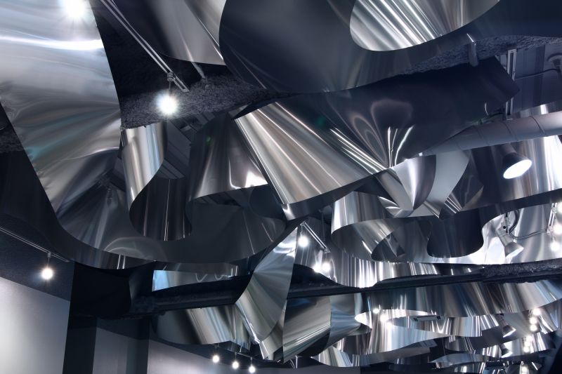 ARKHE Beauty Salon with an impressive ceiling design