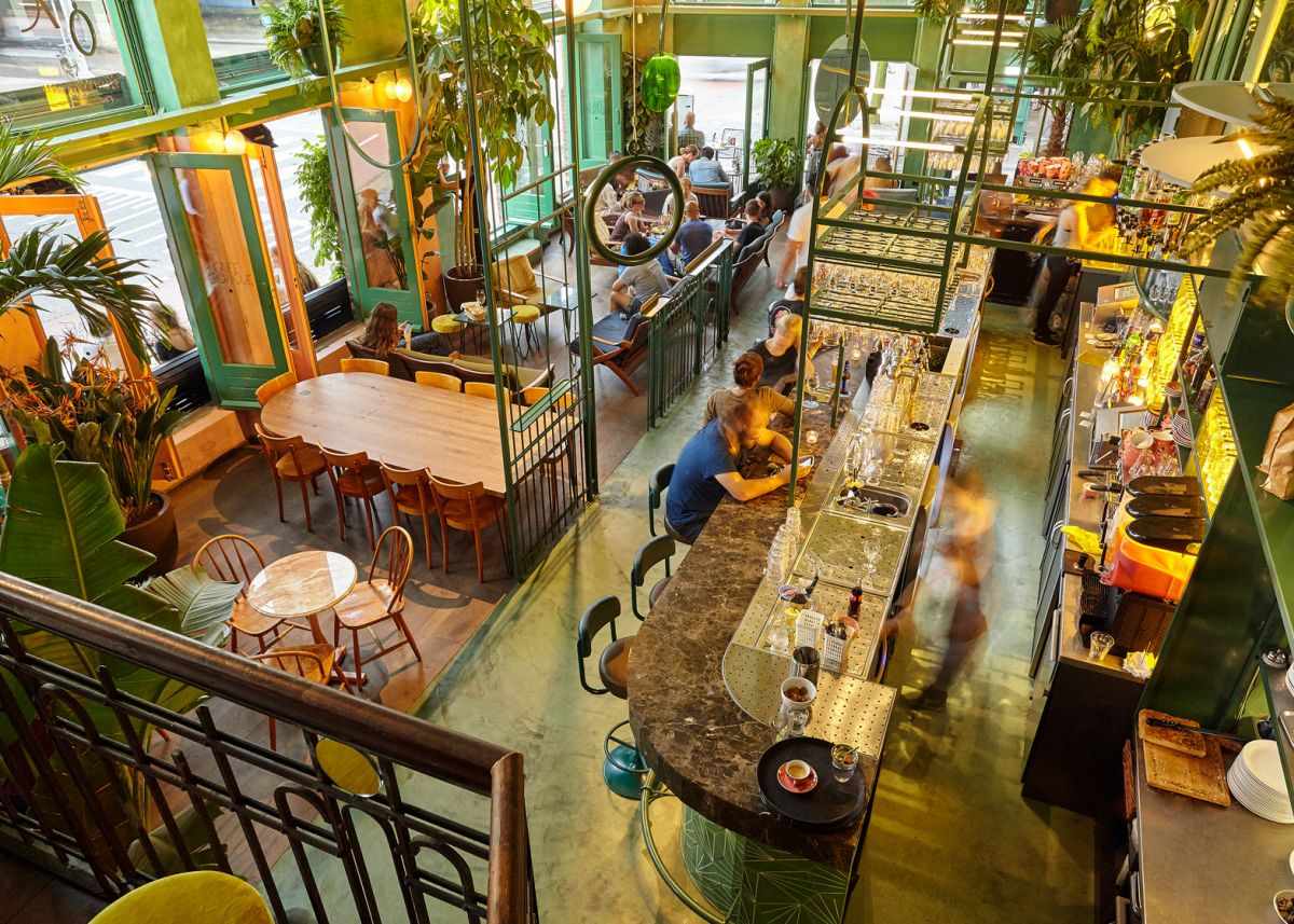 Bar Botanique Cafe Tropique Above View