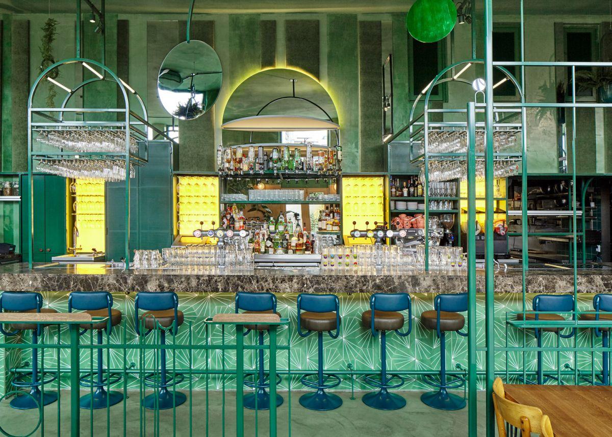 Bar Botanique Cafe Tropique Bar Stools