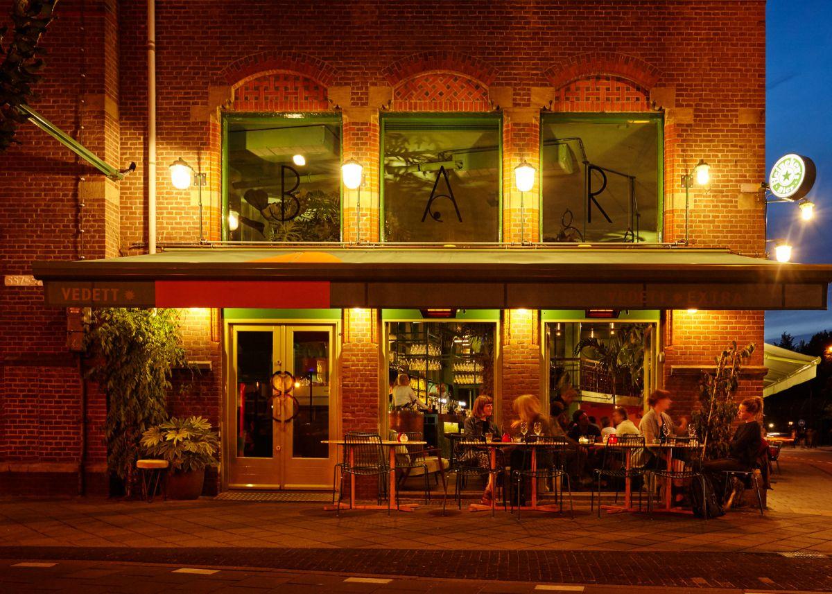Bar Botanique Cafe Tropique Modern Exterior