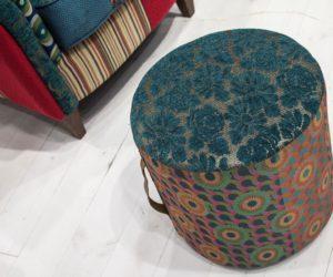 Boho chic stool from Calia Italia