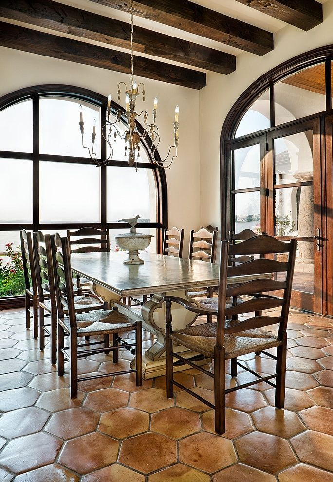 Classic spanish dining area