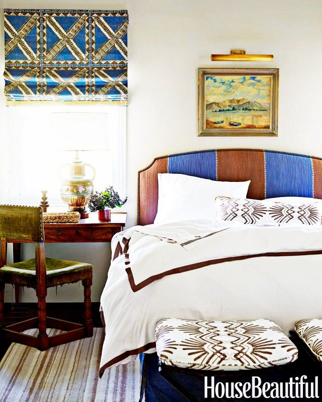 Color and pattern for Spanish bedroom
