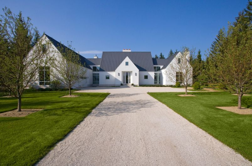 Color of the gravel you can use for house