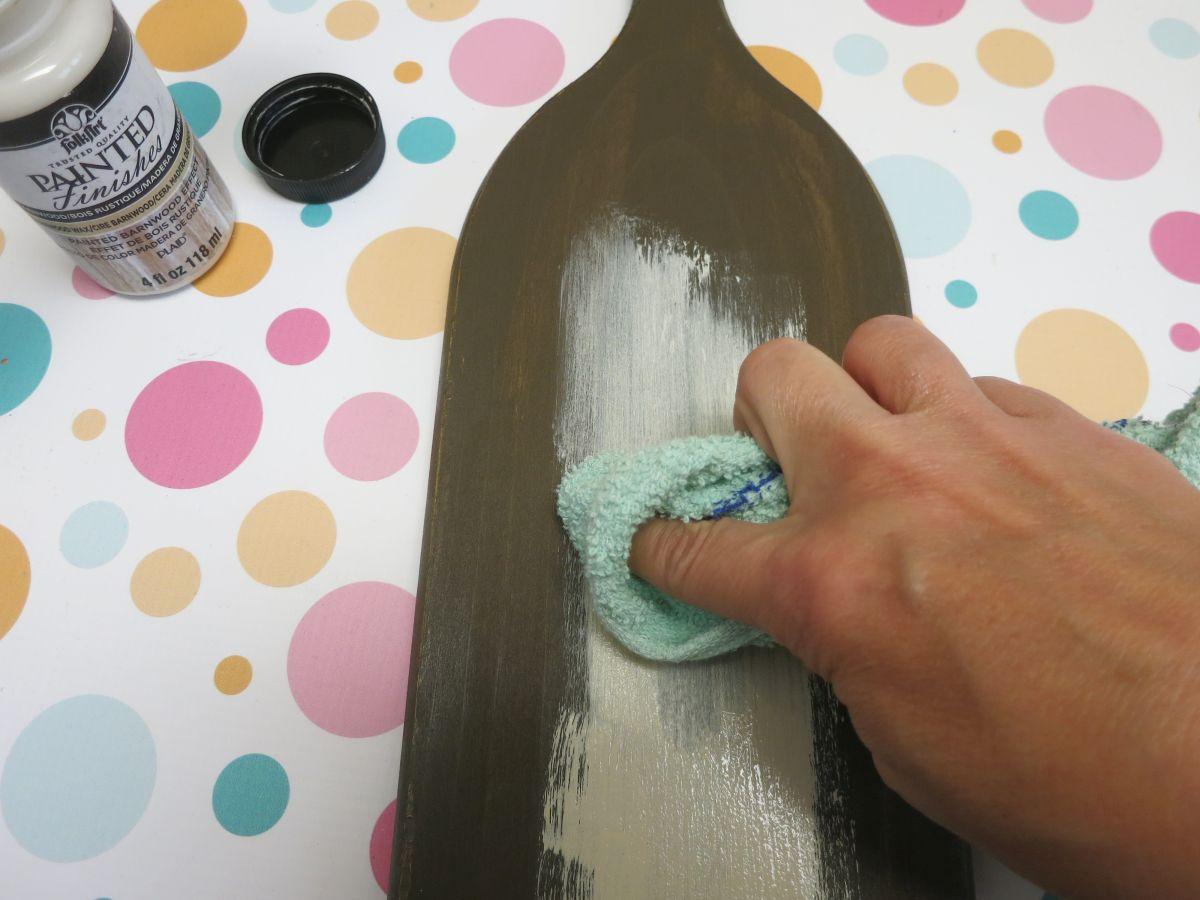DIY Paddle Towel Hook Home Decor Cloth wash