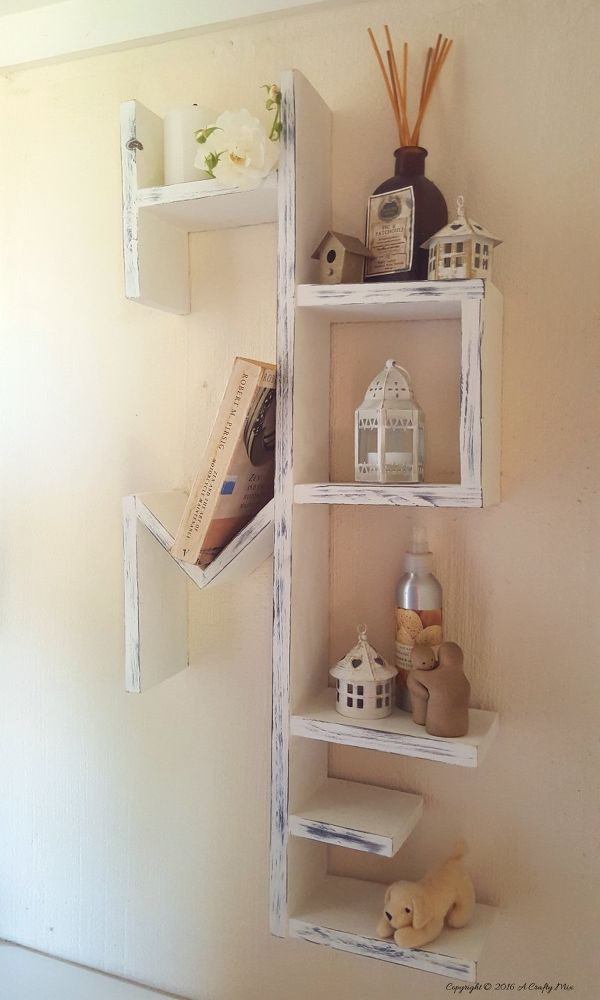 DIY home shelves