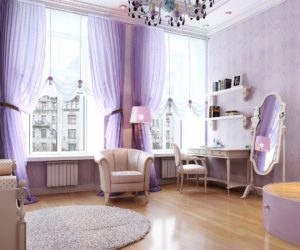 Grand purple room