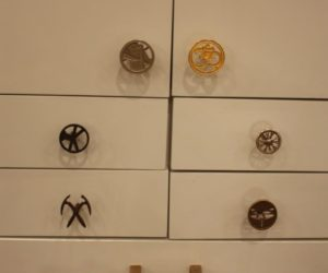 This a sampling of the types of knobs and pulls that can be created for you by Knockout Knobs.
