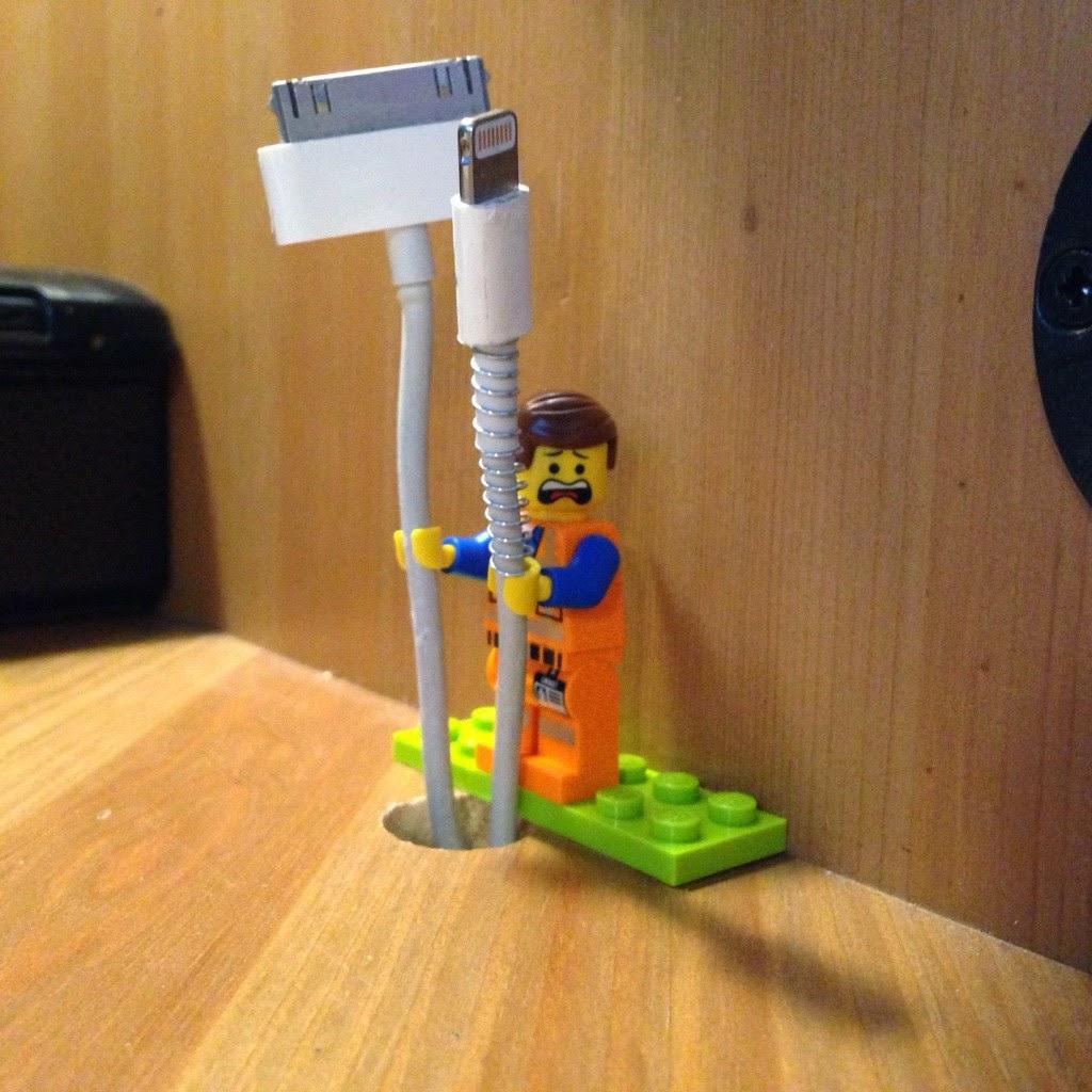 Lego Wire Holder Worker