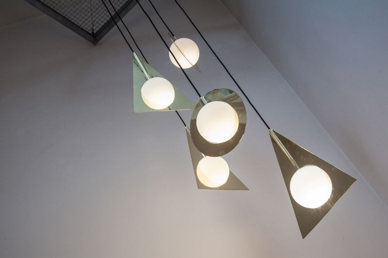 Plane Triangle TomDixon Lighting
