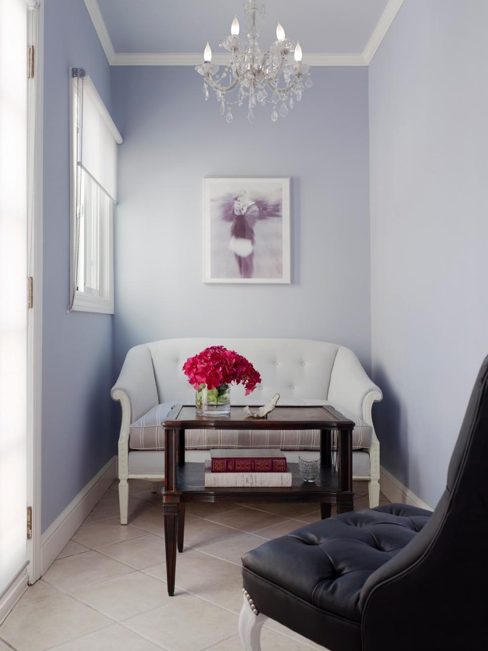 Small levender room design
