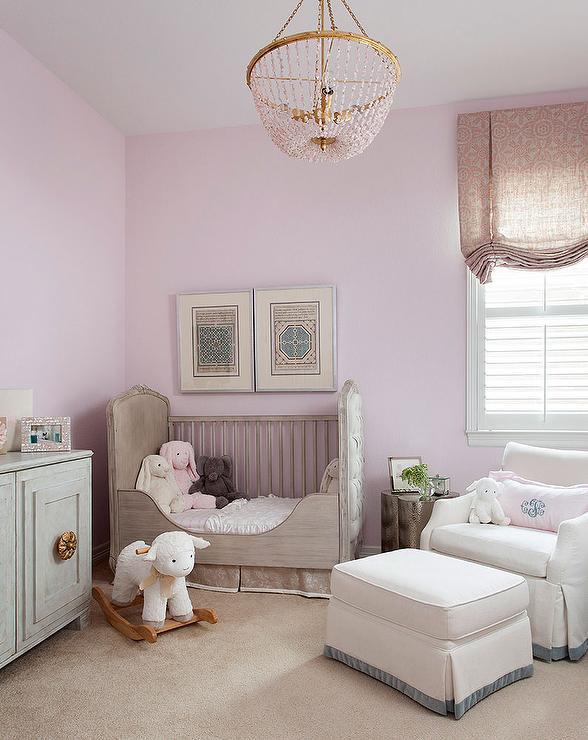 Soft color for a levender nursery