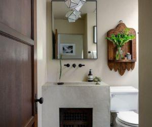 Spanish bathroom design