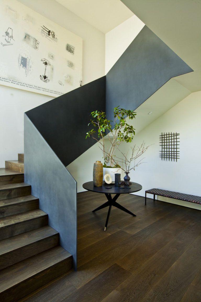 Contemporary Farmhouse Retreat - staircase