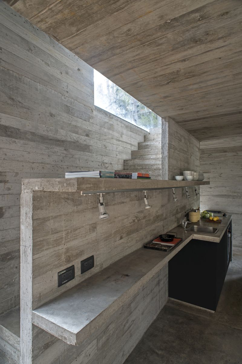H3 House kitchen counter