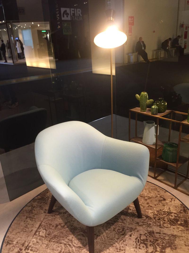 Ice Blue Chair