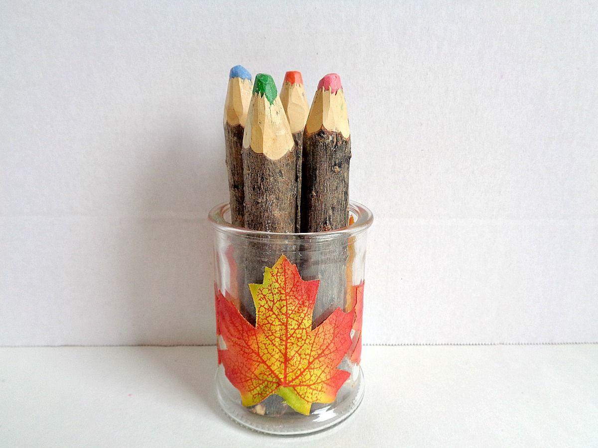 Leaf Candle Jar