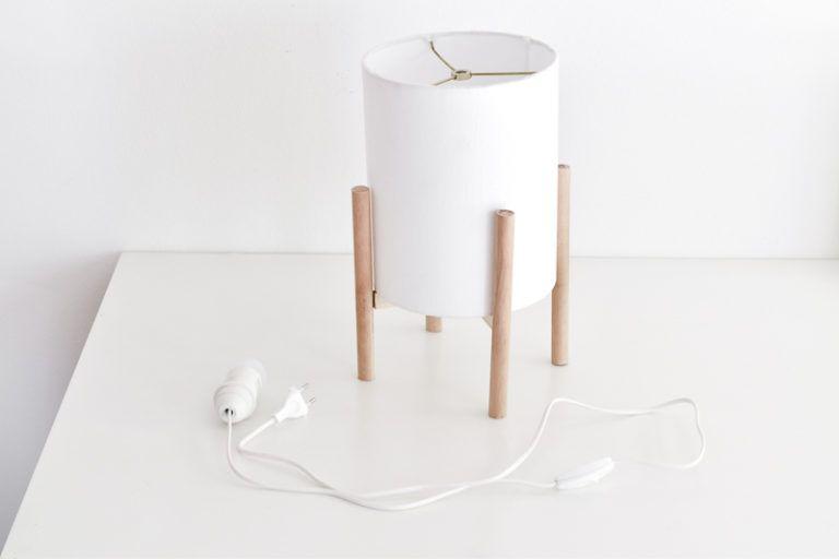 Mid-Century Modern Lamp DIY