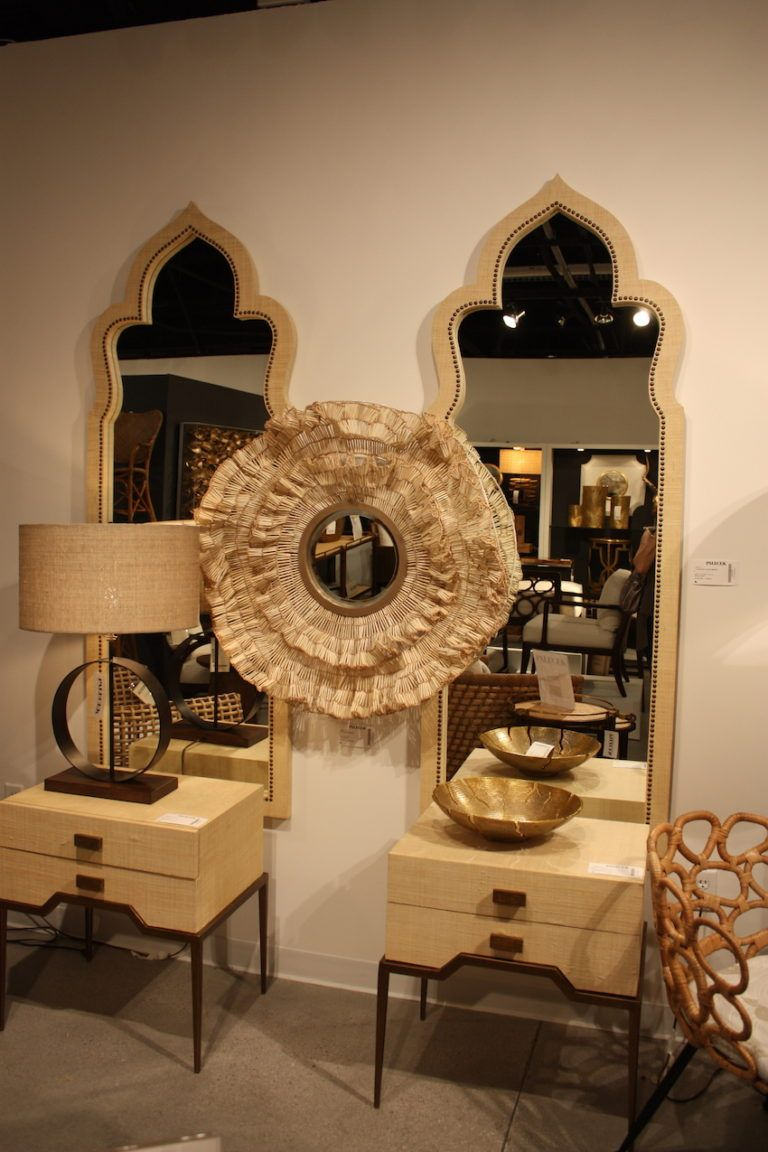 Palecek tables mirrors