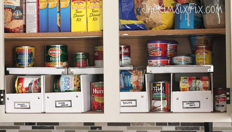 Pantry cans organizers