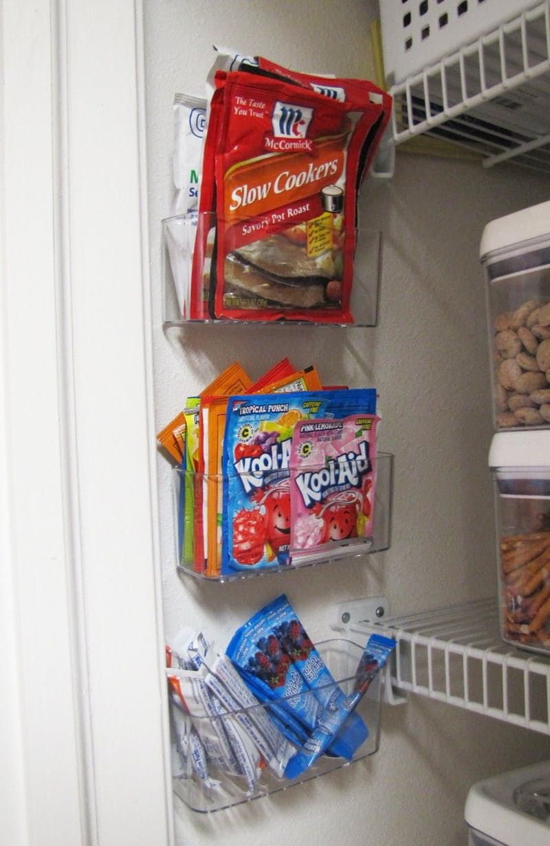 Pantry tranparent storage cans