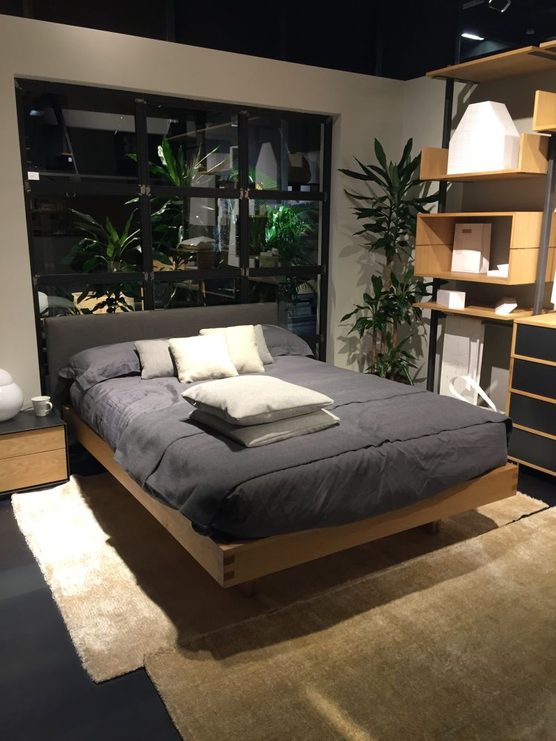 Platform bed from wood