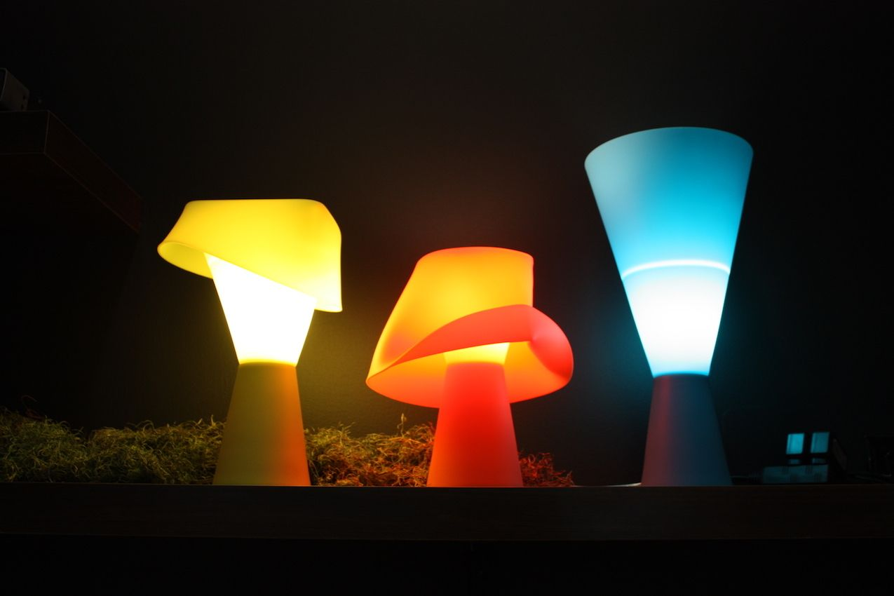 Seed Design silicone lamps