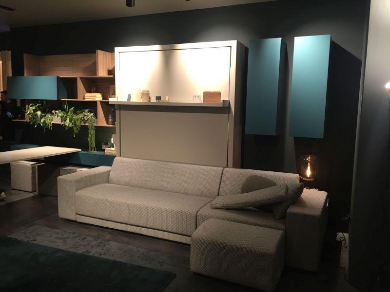 Sky blue smart living furniture