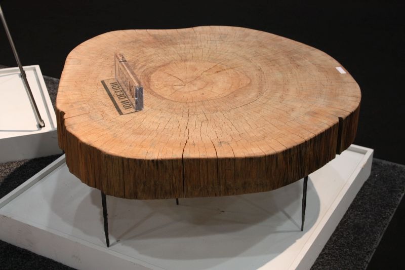 wood coffee table from minimalist to