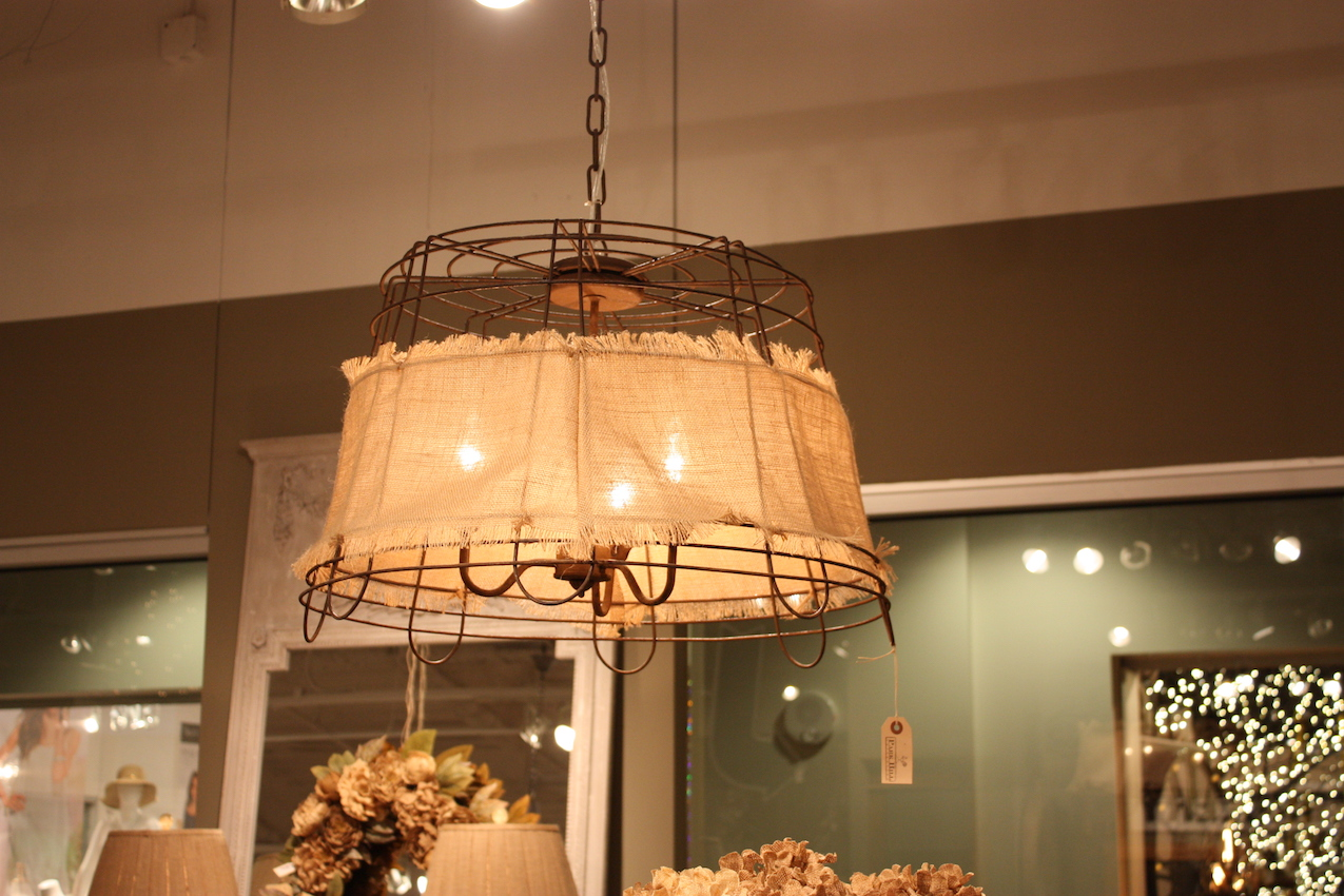 park hill burlap wire light