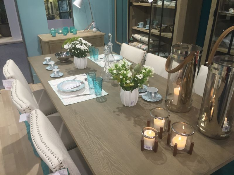 Add candles for dining table decor