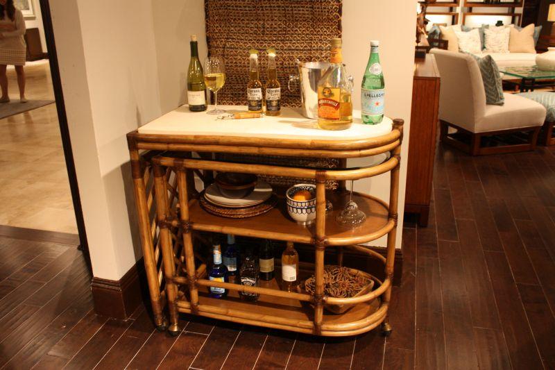 bamboo-style-bar-cart-design
