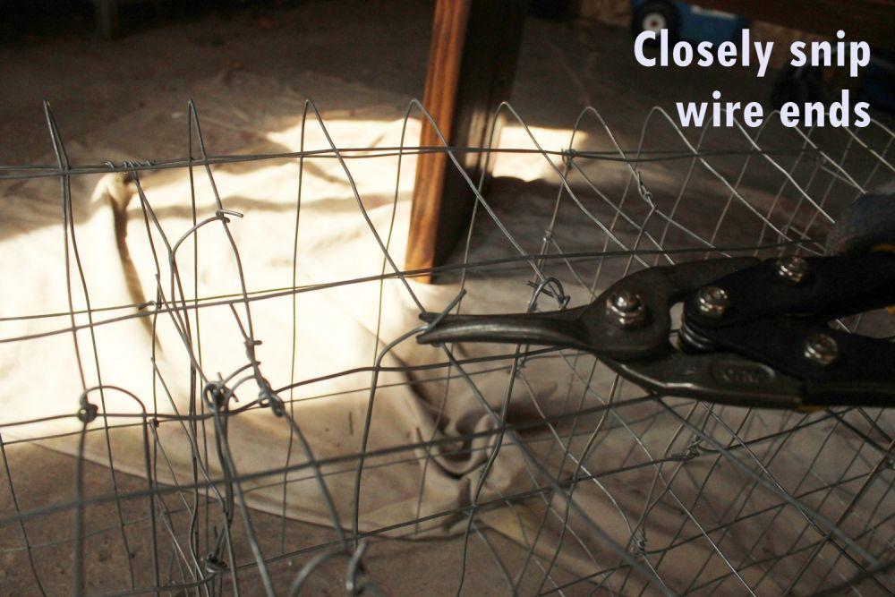 DIY Industrial Bench-wire snips