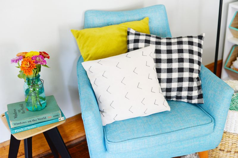 DIY Mud Cloth Inspired Pillow Add to Collection