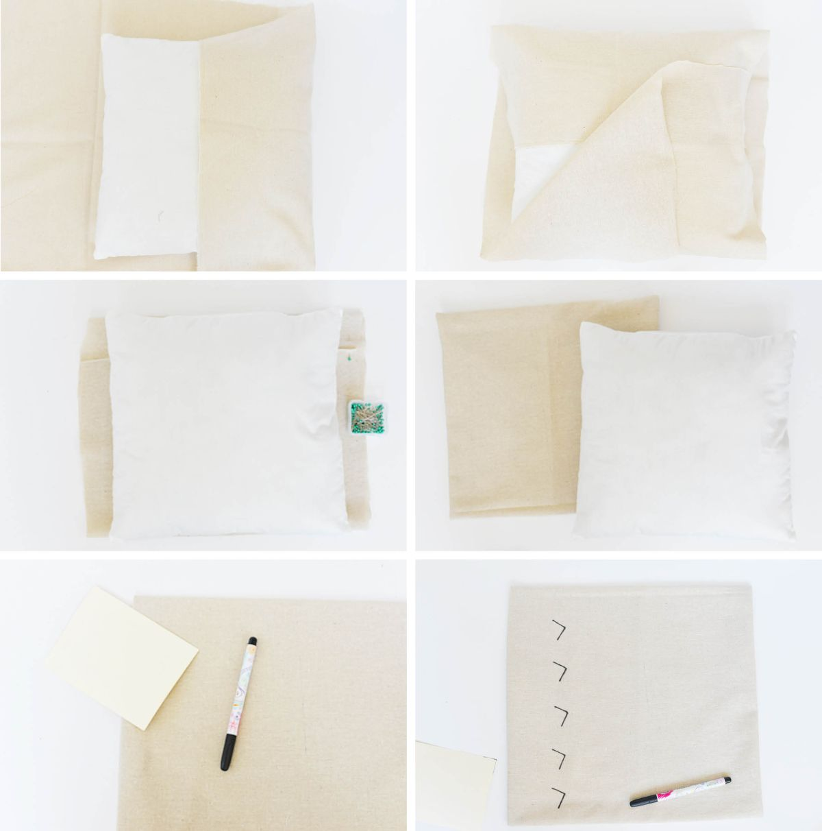 DIY Mud Cloth Inspired Pillow Instructions