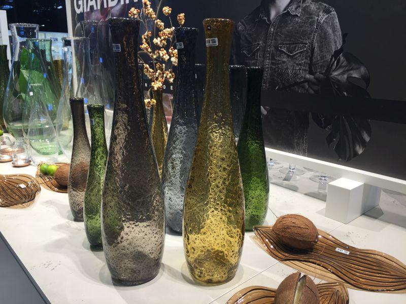 Giardino flower glass vases