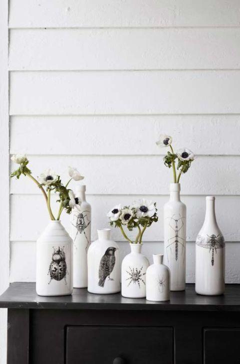 Halloween Vases for Flowers