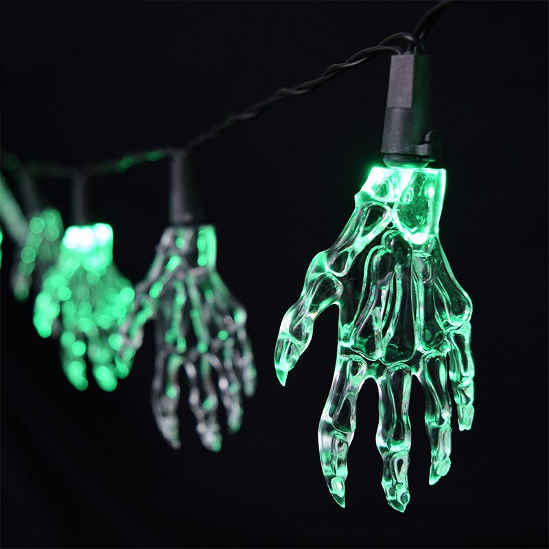 halloween-green-hand-party-lights