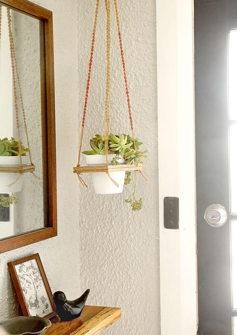 macrame-hanging-plant-shelf